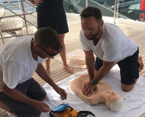 Yacht Crew First Aid Training