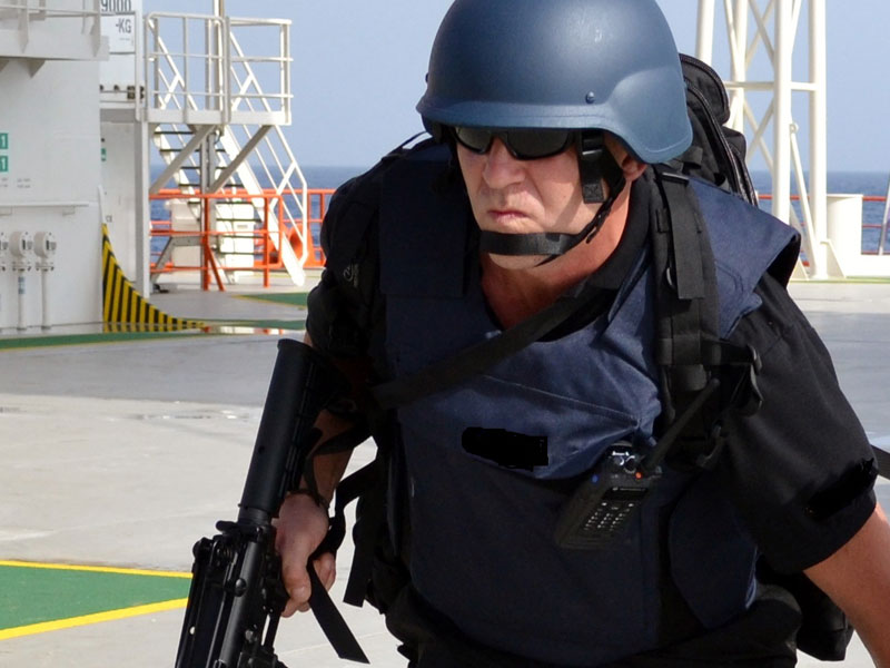 Armed Maritime Security Officer Training