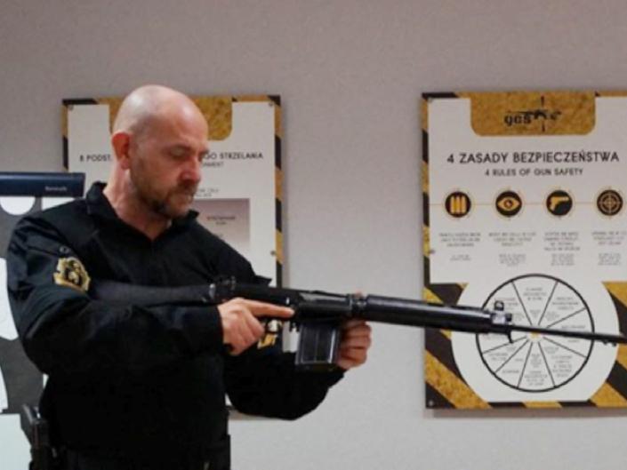 Maritime firearms course